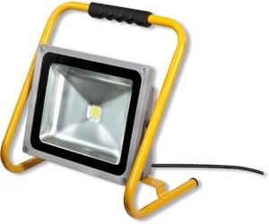 Extrem LED-Baustrahler 50W IP65 mit Gestell - Colorino Shop HN52